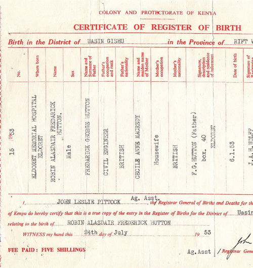 How to recover a birth certificate of the child