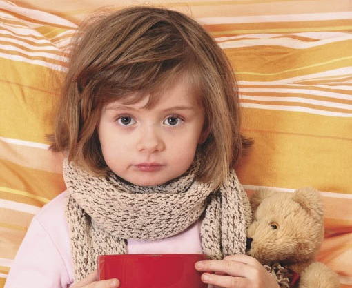 How to cure a severe cough in children