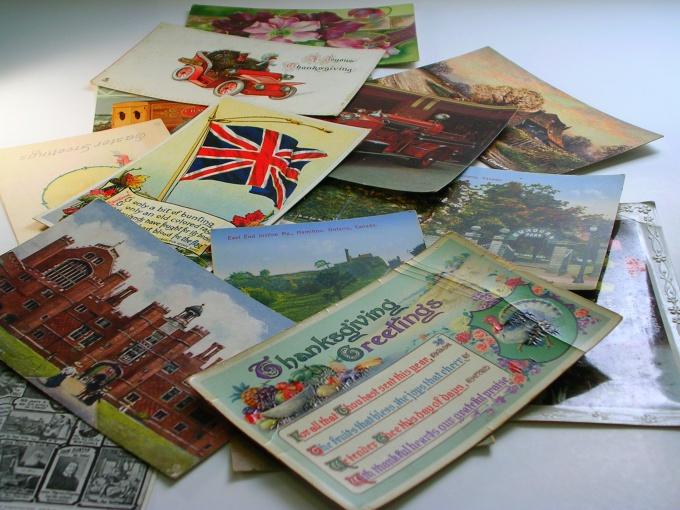 Как подписать открытку другу