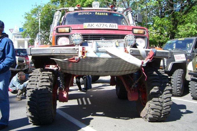 How to increase ground clearance in the Fields