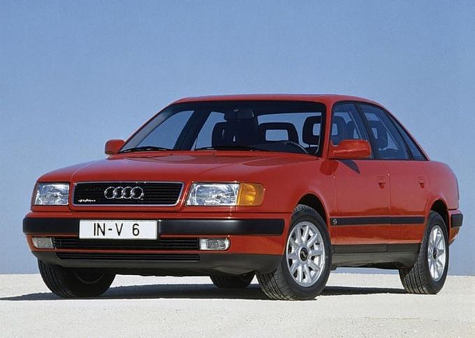Как снять печку Audi 100