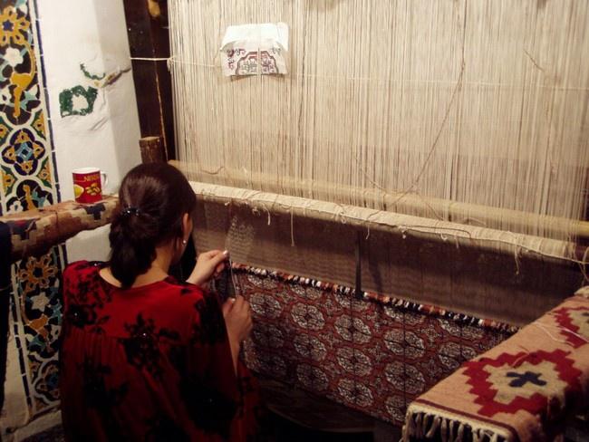 Как научиться ткать ковер