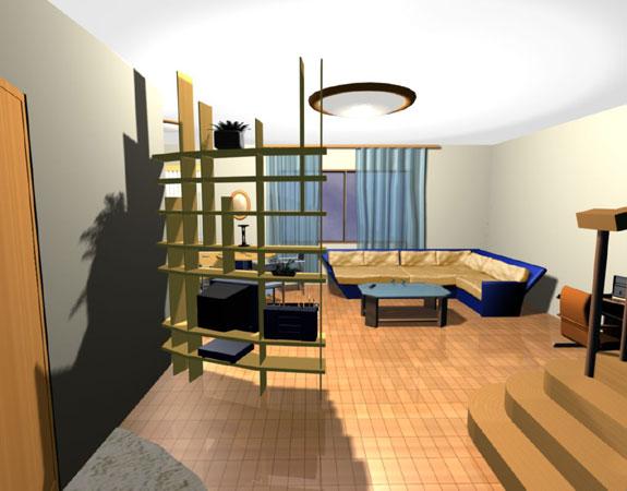 Как совместить зал и спальню