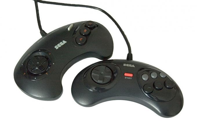 Как подключить к компьютеру джойстик Sega