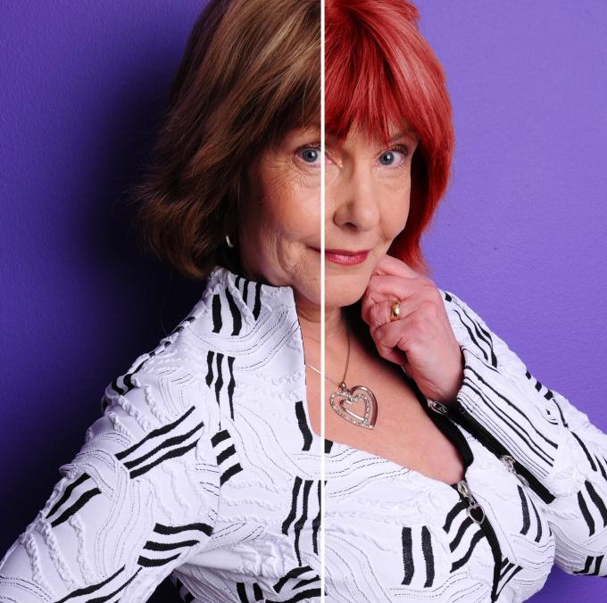 Как изменить цвет волос на фотографии