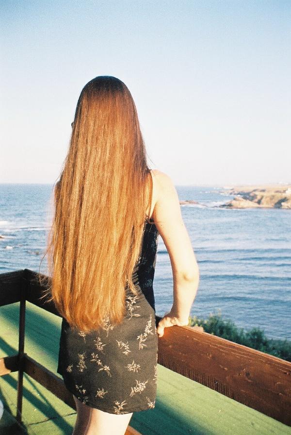 Как отрастить окрашенные волосы