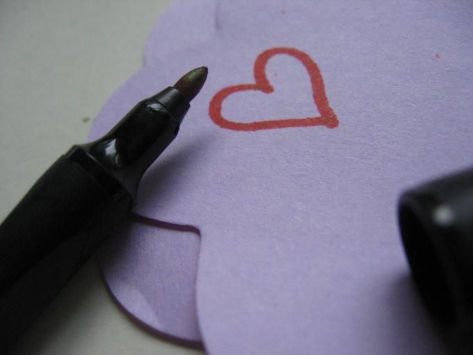 Как написать валентинку