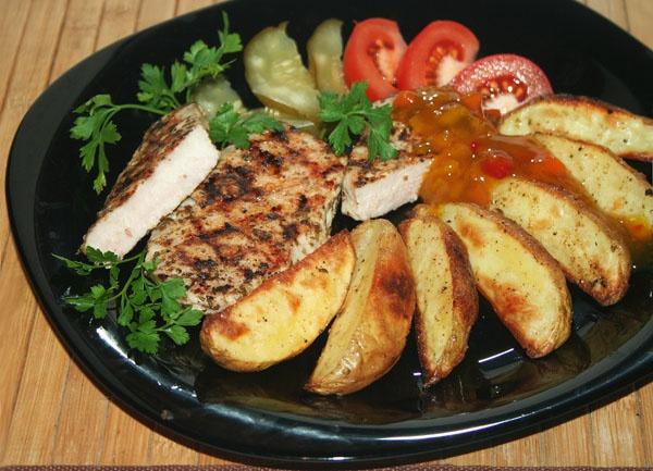 Как готовить картошку по-деревенски