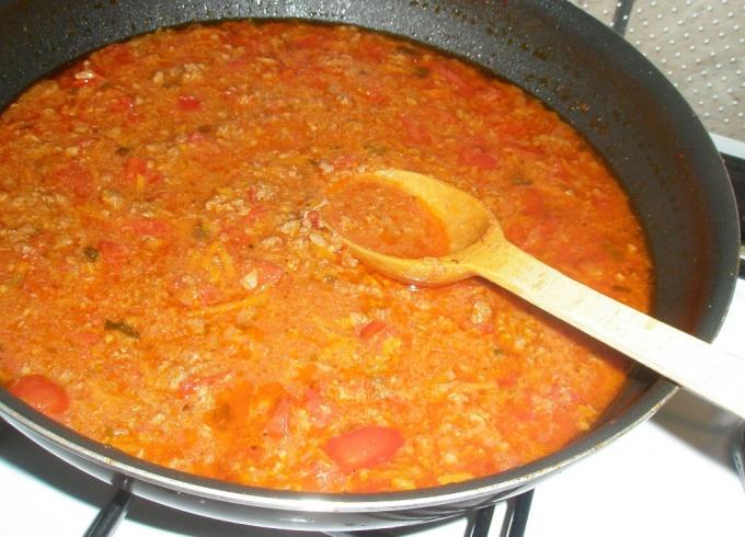 Как приготовить соус с фаршем