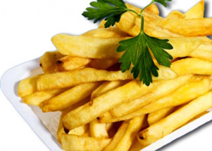 Как приготовить замороженный картофель фри