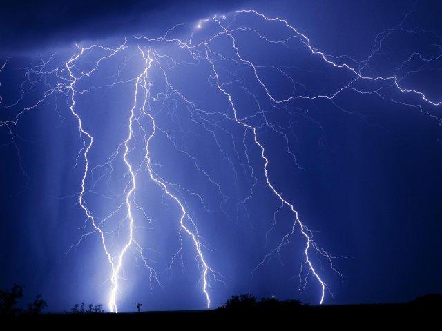 Как сфотографировать молнию