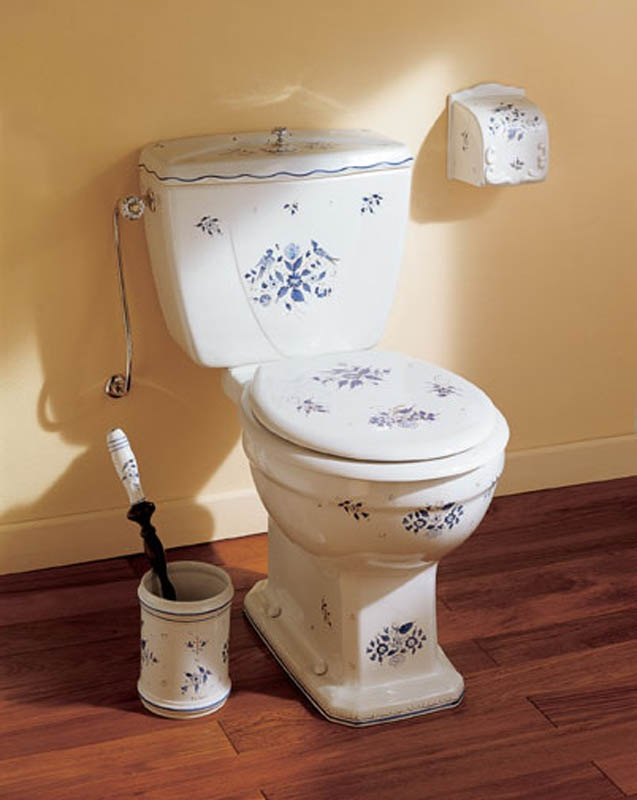 How to remove rust from toilet
