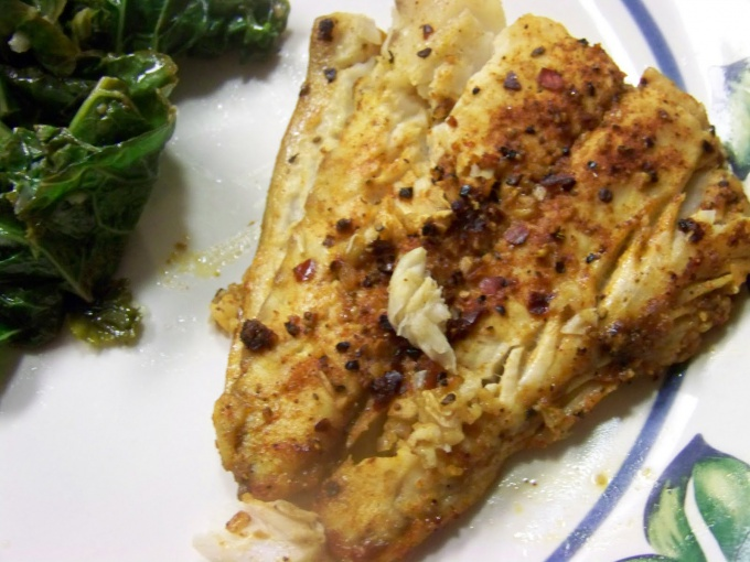 How to fry Pollock fish