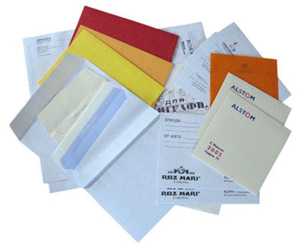 Как напечатать на конверте