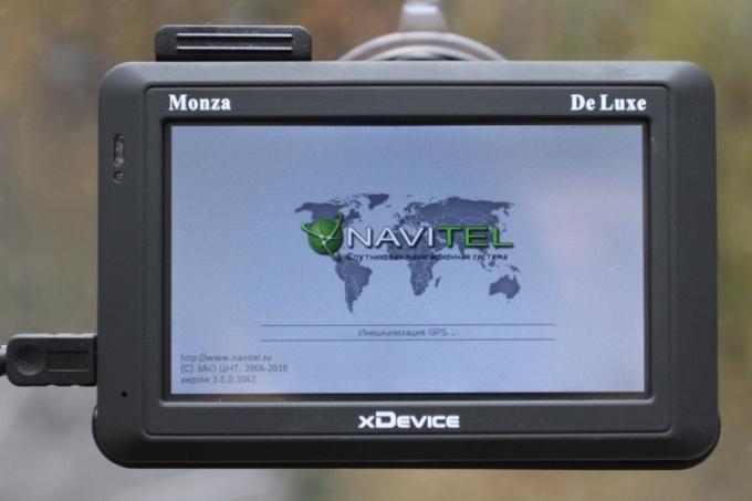 Как записать карту в навигатор