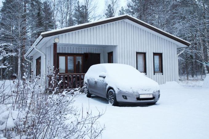 Как запустить машину в мороз