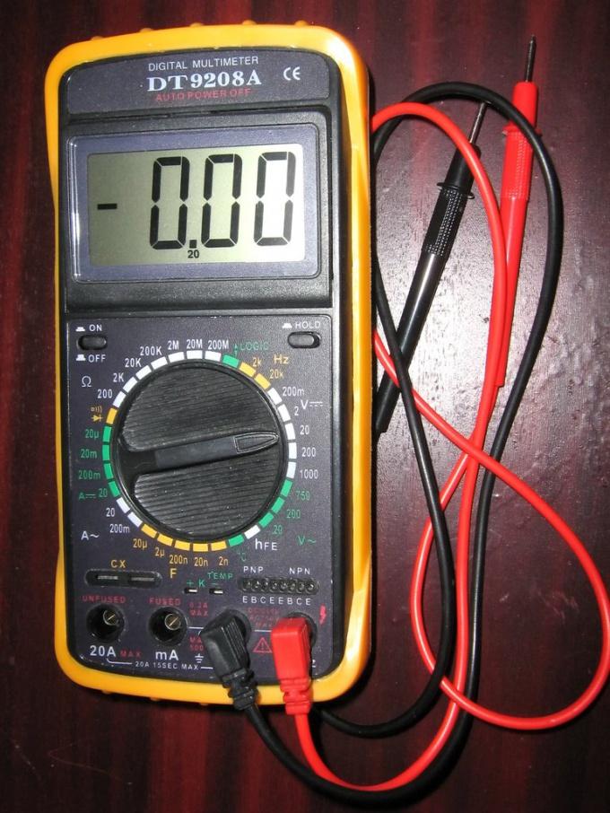 Как измерить напряжение и ток