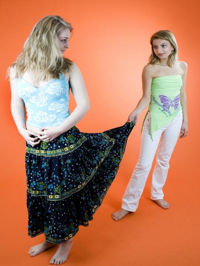 ? Как делать юбку-солнце :: как можно сделать себе юбку без трудностей :: Hand-made