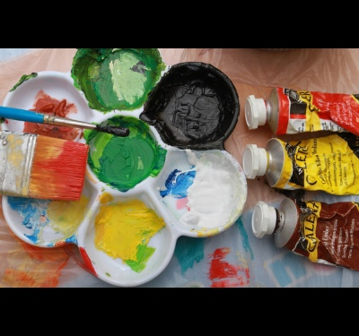 How to dry oil paint