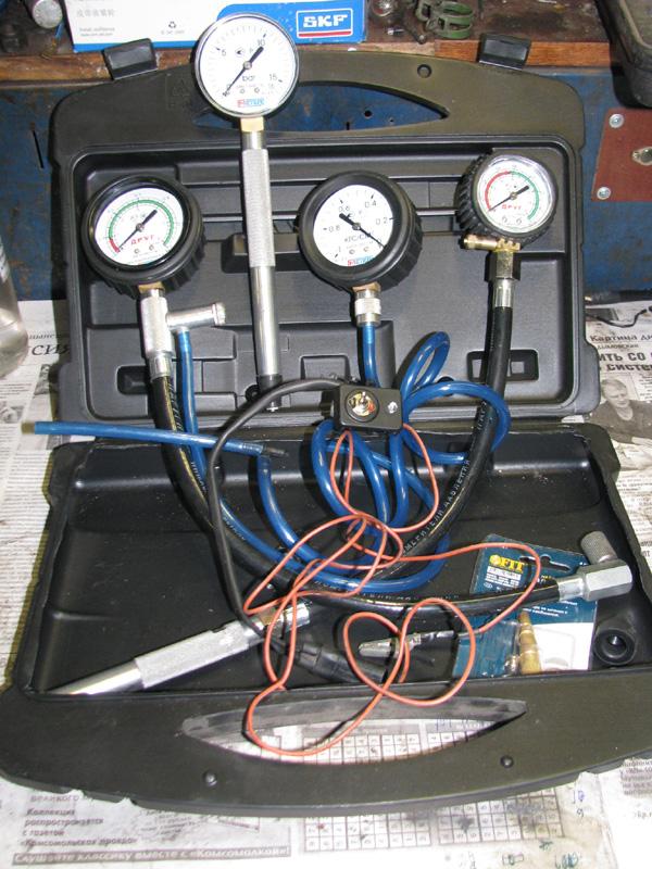 Как измерить давление топлива