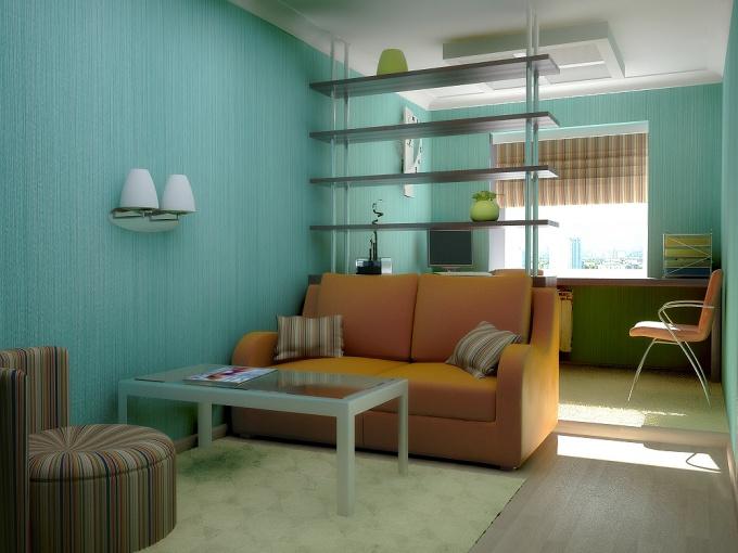 Как расширить узкую комнату