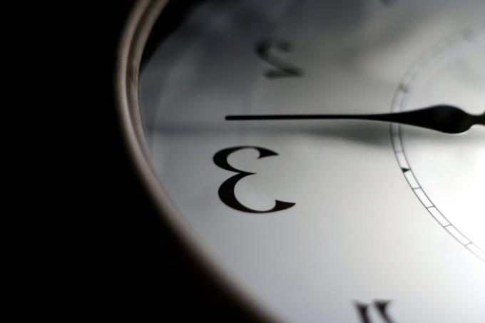 Как сделать часы обратного хода