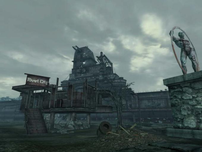 Как попасть в Ривет-Сити в Fallout 3