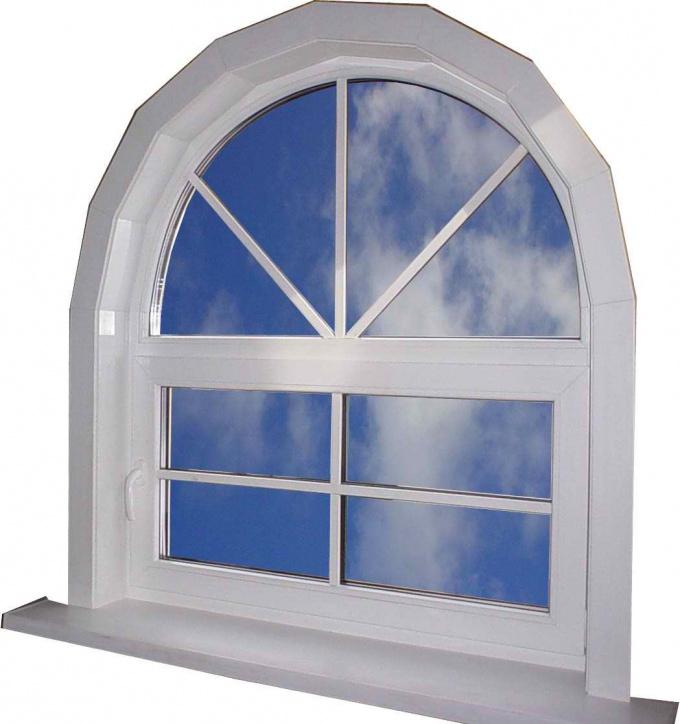 Как сделать арочные окна