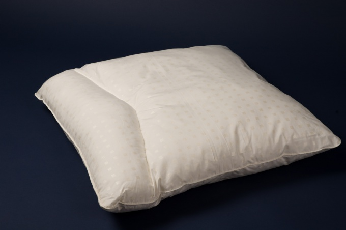 How to sew pillow orthopedic