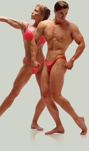 Как сделать телосложение спортивным