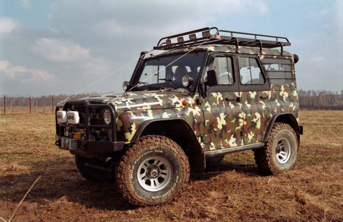 How to make the most tuning UAZ