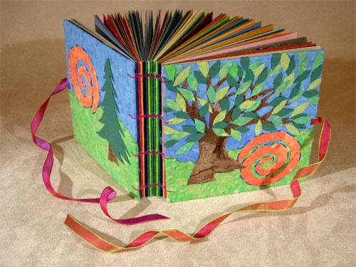 Как делать книжку из бумаги своими руками