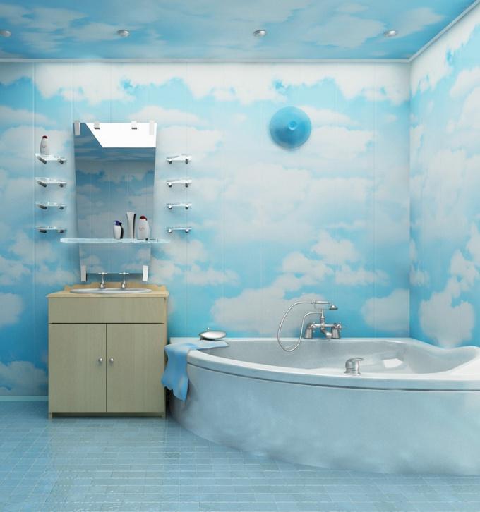 Как обшить пластиковыми панелями ванну