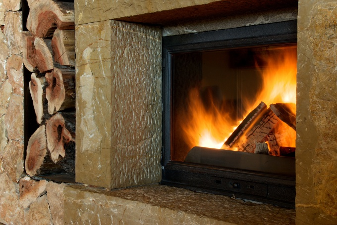 How to alter a stove in the fireplace