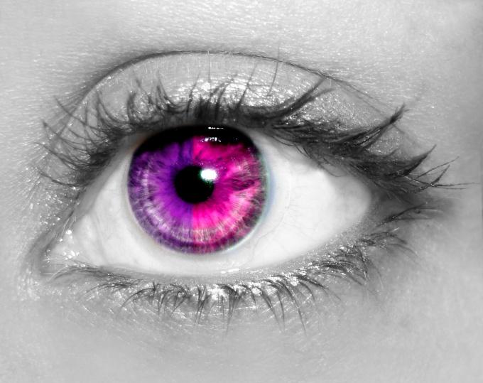 Цвет глаз как сделать ярче