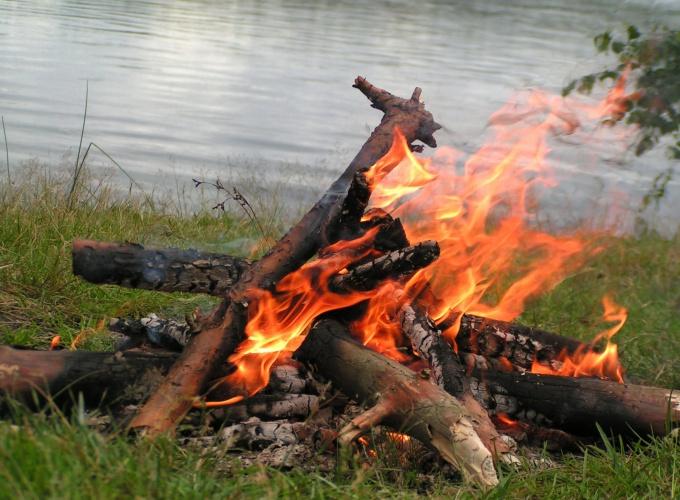Как сохранить огонь