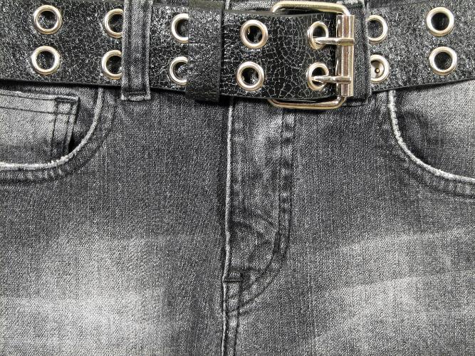 Как воротить джинсам черный цвет