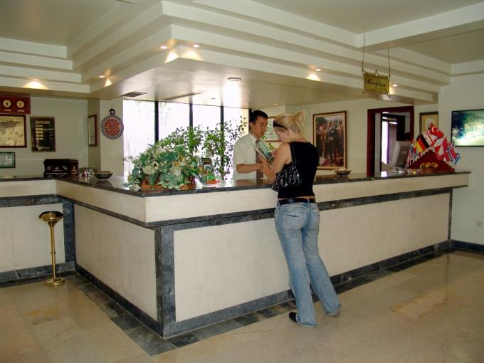 Как заполнить бланк гостиницы