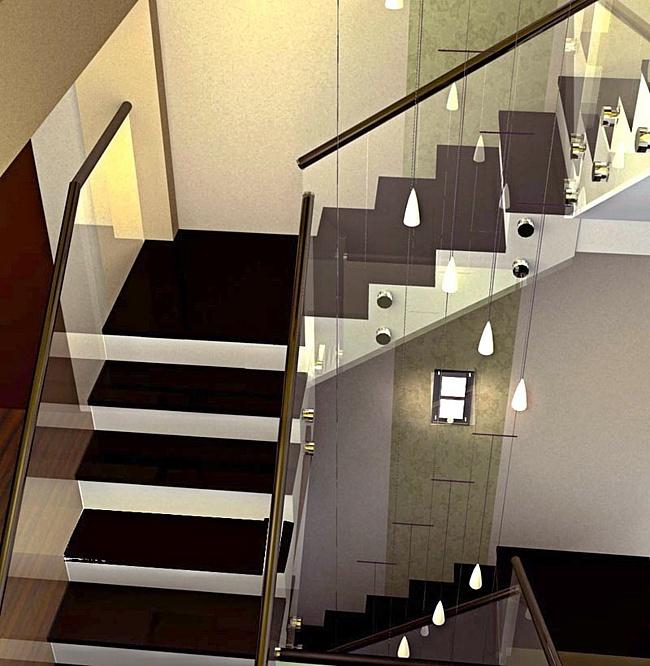 Как начертить лестницу
