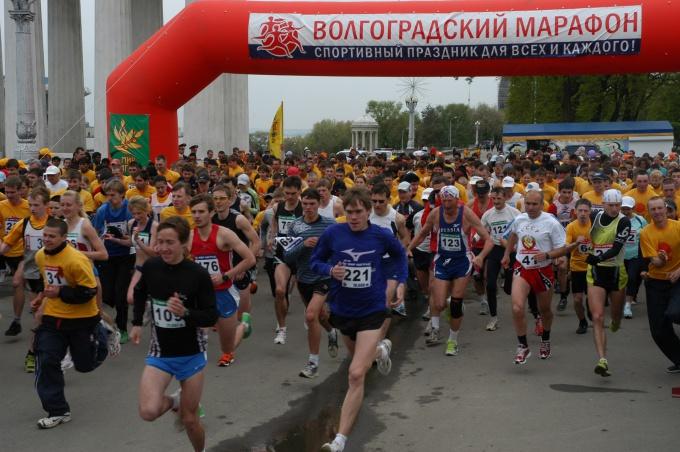 Как провести марафон