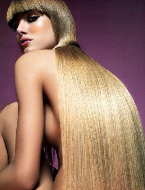 Как снять нарощеные волосы