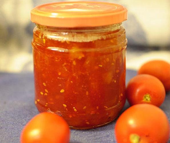 Как приготовить томатный конфитюр