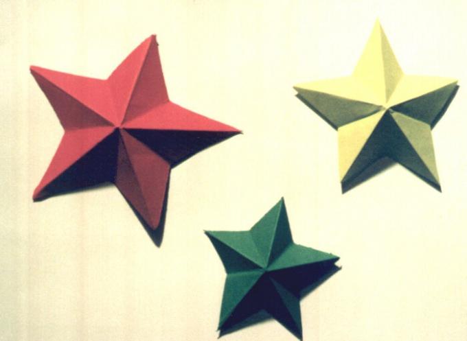 Как построить пятиконечную звезду