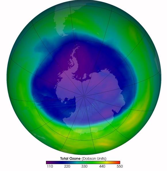Как предупредить о озоновой дыре