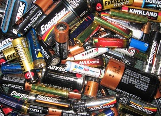 Как утилизировать батарейки