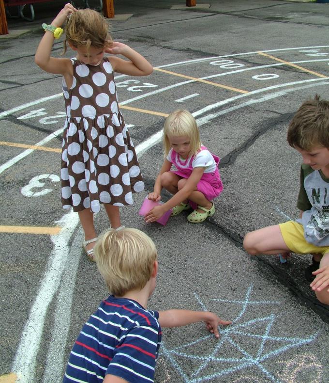 Как создать проект с детьми