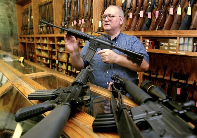 Как открыть магазин оружия