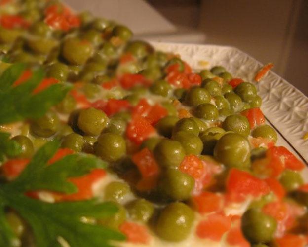 Как приготовить горошек по-неаполитански