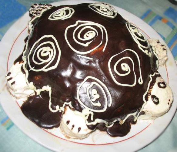 Как готовить торт «Черепаха»