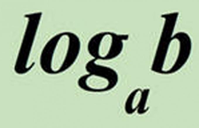 Как найти логарифм числа